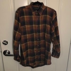 Burberry flannel shirt